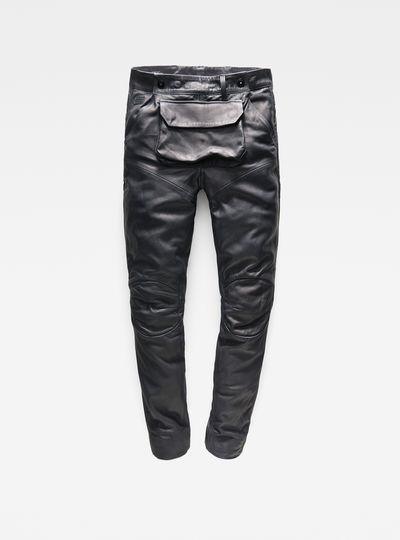 5620 G-Star Elwood 3D Pouch Leather Boyfriend Pants