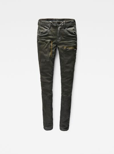 Powel Utility Mid Waist Skinny Cargo Pants