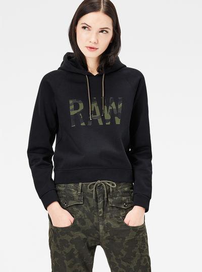 Sitan Straight Hooded Sweater