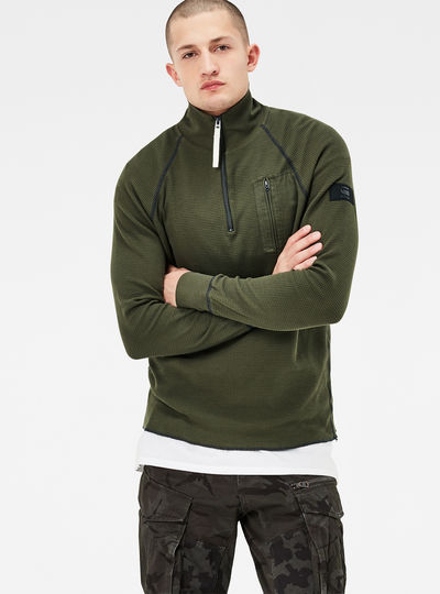 Powel Half Zip Regular Fit Sweater