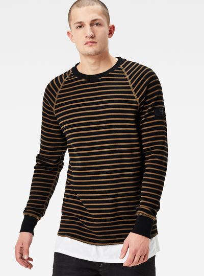 Jirgi Striped Regular Fit Sweater