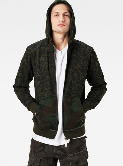 Arzay Hooded Zip Regular Fit Sweater