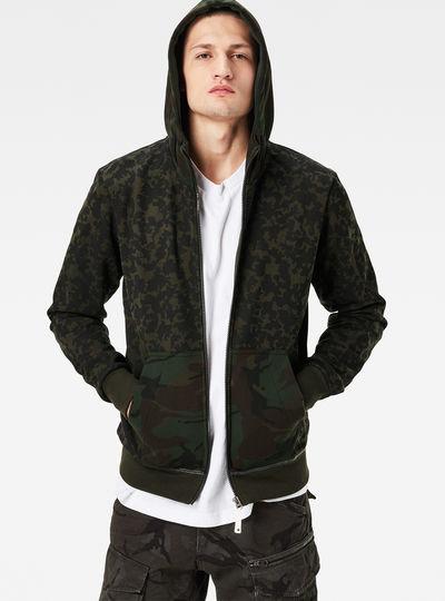 Arzay Hooded Zip Regular Fit Sweater