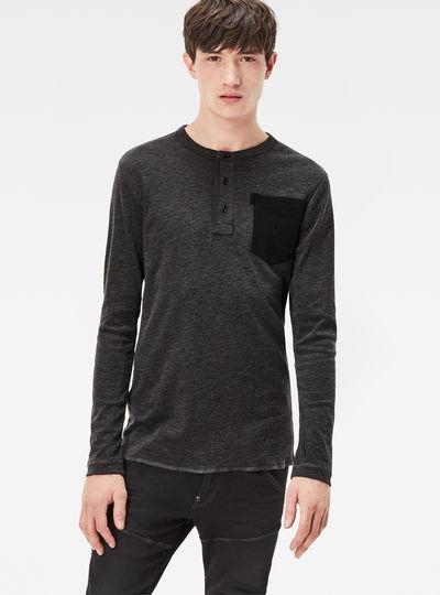 Classic Granddad Pocket Slim T-Shirt
