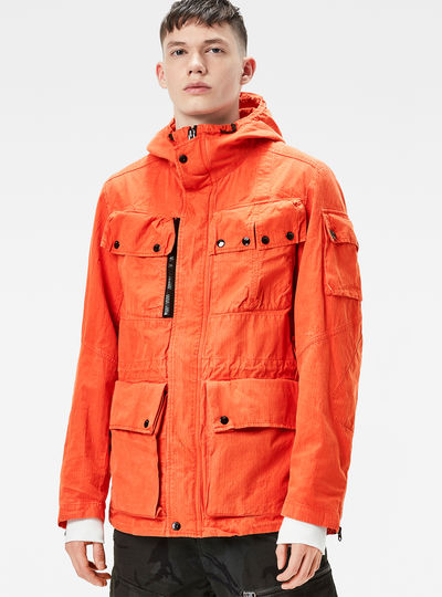 Ospak Hooded Field Jacket