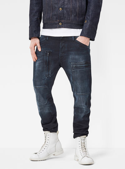 Powel 3D Tapered Jeans