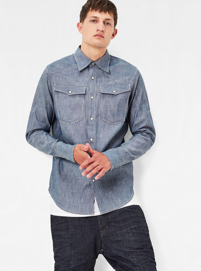 Raw Essentials 3301 Slim Shirt