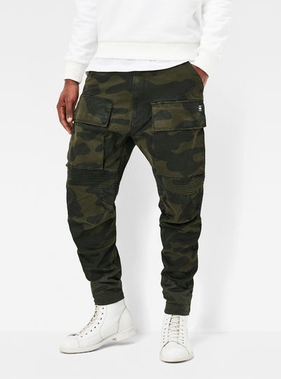 Vodan Tapered Cargo Pants
