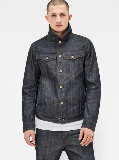 Raw Essentials 3301 3D Slim Jacket