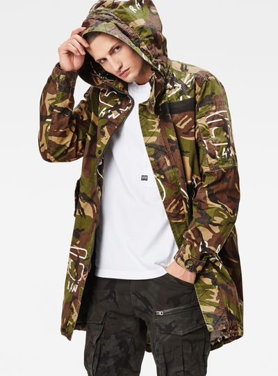Batt Hooded Straight Fit Parka