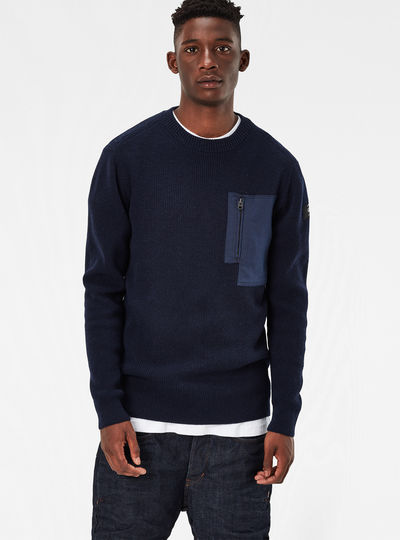 Powel Knit Regular Fit Pullover