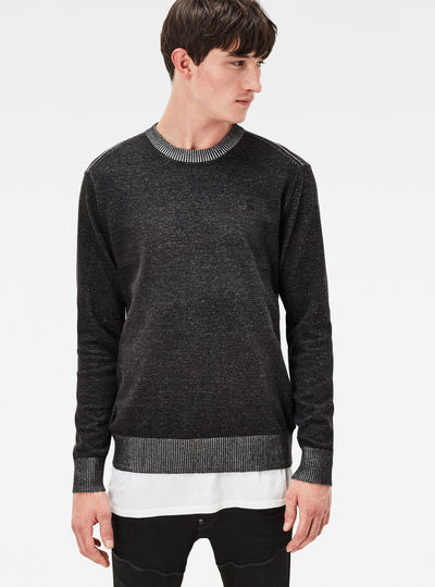 Core Plated Knit Regular Fit Pullover