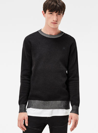 Dadin Double Knit Regular Fit Pullover