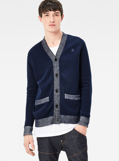 Core Double Knit Regular Fit Cardigan