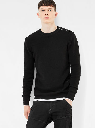 MT Dadin Knit Regular Fit Pullover