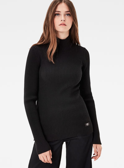 MT Iria Turtleneck Slim Knit