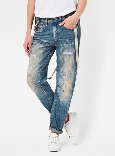 Arc Braces 3D Low Boyfriend Jeans