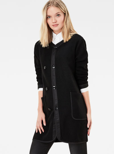 Daxly Long Knit Boyfriend Cardigan
