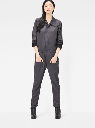 jumpsuits overalls dames g star raw. Black Bedroom Furniture Sets. Home Design Ideas