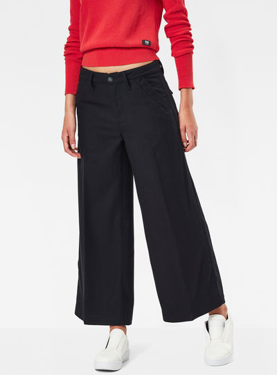 MT Bronson High Waist Culotte Chino