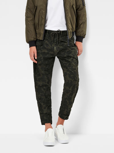 Army Radar Low Waist Boyfriend Cargo Pants
