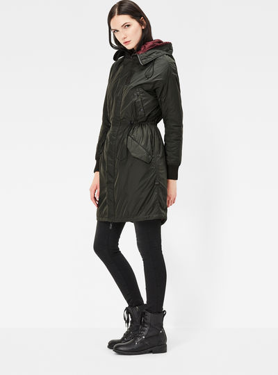 Polax Hooded Boyfriend Fit Parka