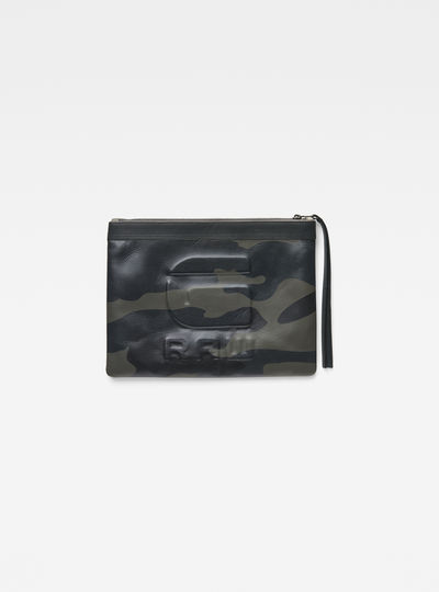 Apry Leather Clutch