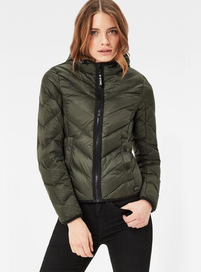Alaska Down Hooded Jacket