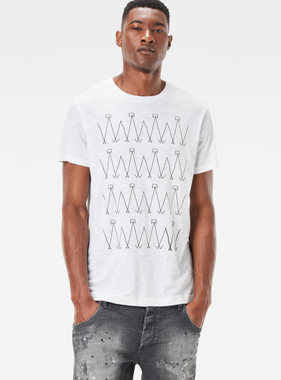 Luxas Zigzag Regular Fit T-Shirt