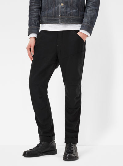 5620 G-Star Elwood Wool 3D Tapered Pants