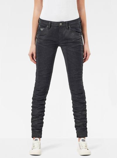 5620 G-Star Elwood Staq Mid Waist Skinny Jeans