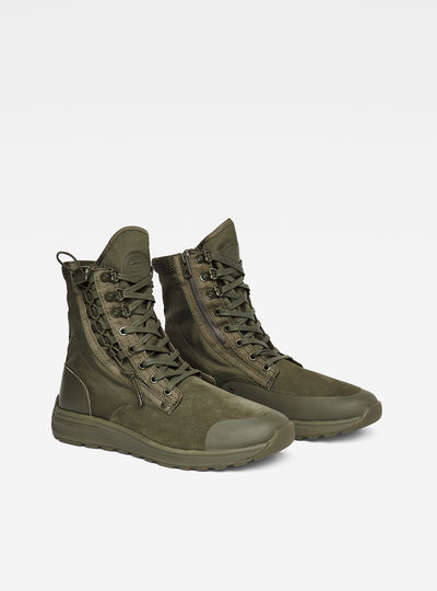 Cargo High Boots