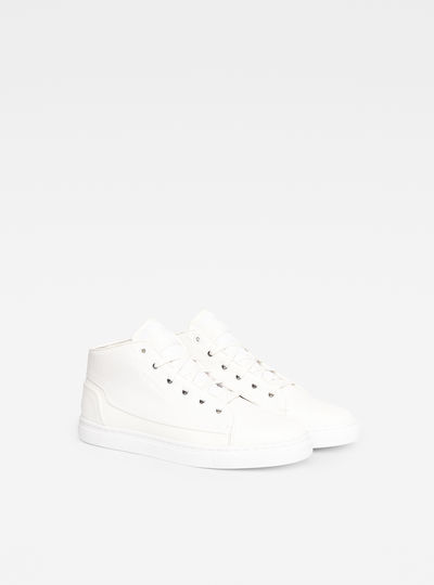 Thec Mid-Top Mono Sneakers