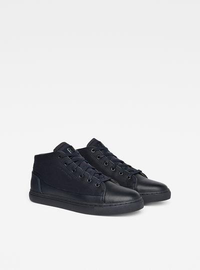 Thec Mid-Top Mono Sneakers
