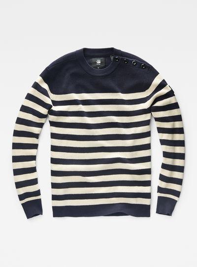 Dadin Solid Stripe Knit