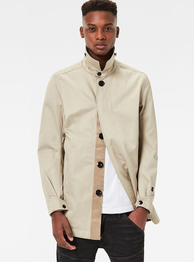 James Short Slim Trench