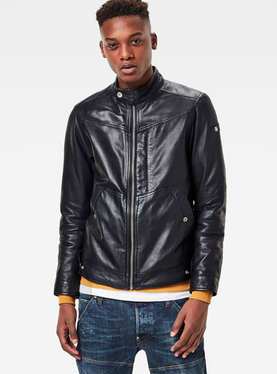 Deline Leather Jacket