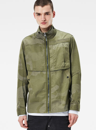 Deline Straight Overshirt
