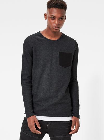 Lenzin Pocket Slim Sweater