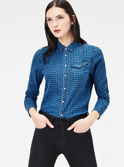 Tacoma Boyfriend Cropped Shirt