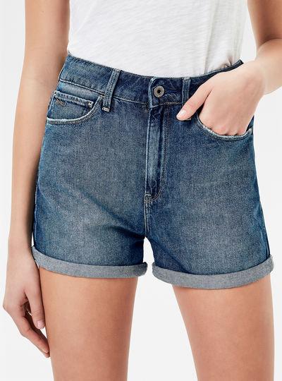 3301 Ultra High Waist Skinny Shorts