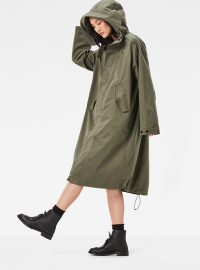 Rovic Hooded XL Loose Parka
