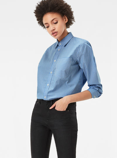 Core Pocket Boyfriend Shirt