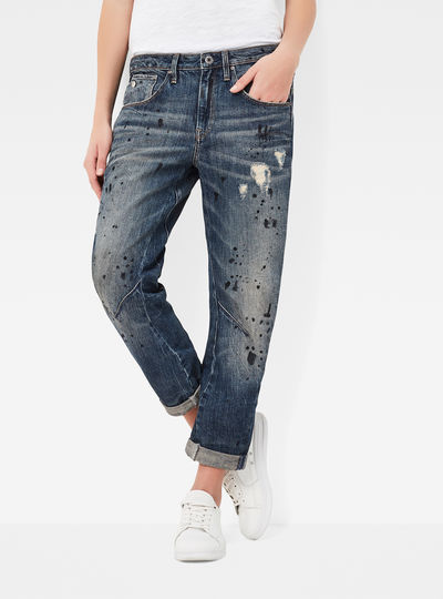 Arc 3D Low Waist Boyfriend 7/8 Length Jeans