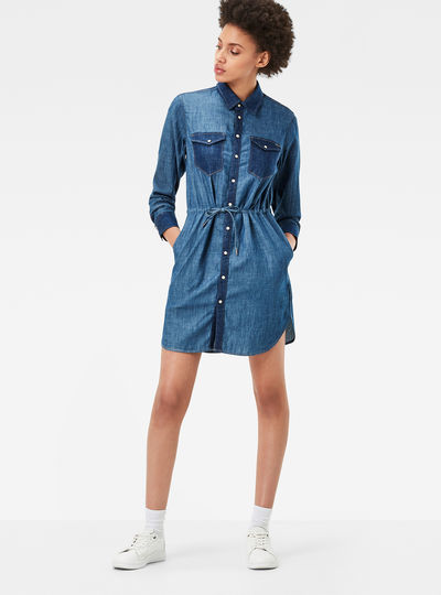 Tacoma Loose Shirt Dress