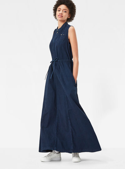 Chopper Loose Maxi Dress