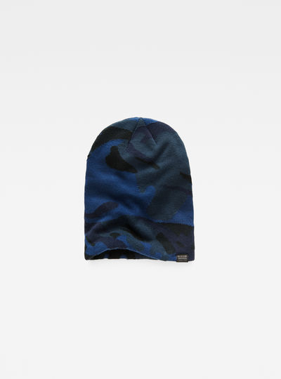 Effo Long Pattern Beanie