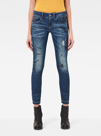 Lynn Mid Skinny RP Ankle Jeans