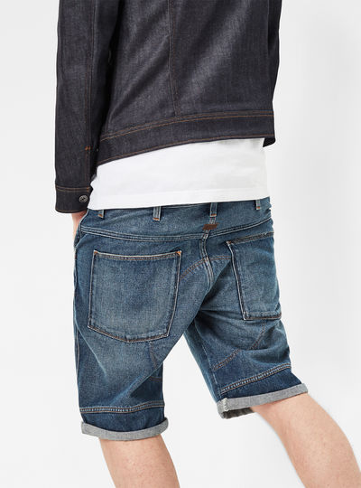 5621 3D 1/2 Length Tapered Shorts