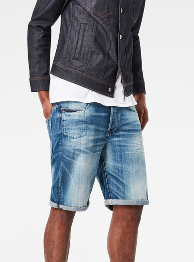 Hedrove Tapered 1/2 Length Shorts